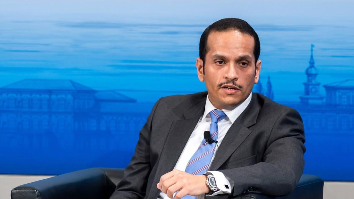 El ministro de Exteriores de Qatar, Mohamed Bin Abderrahman Al Thani.