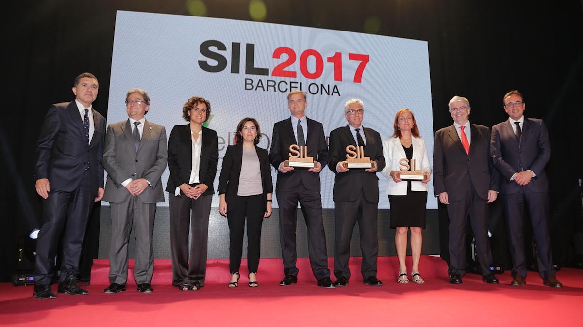 Soraya Sáenz de Santamaría presidió la «Noche de la Logística» del SIL 2017 (Foto: SIL)
