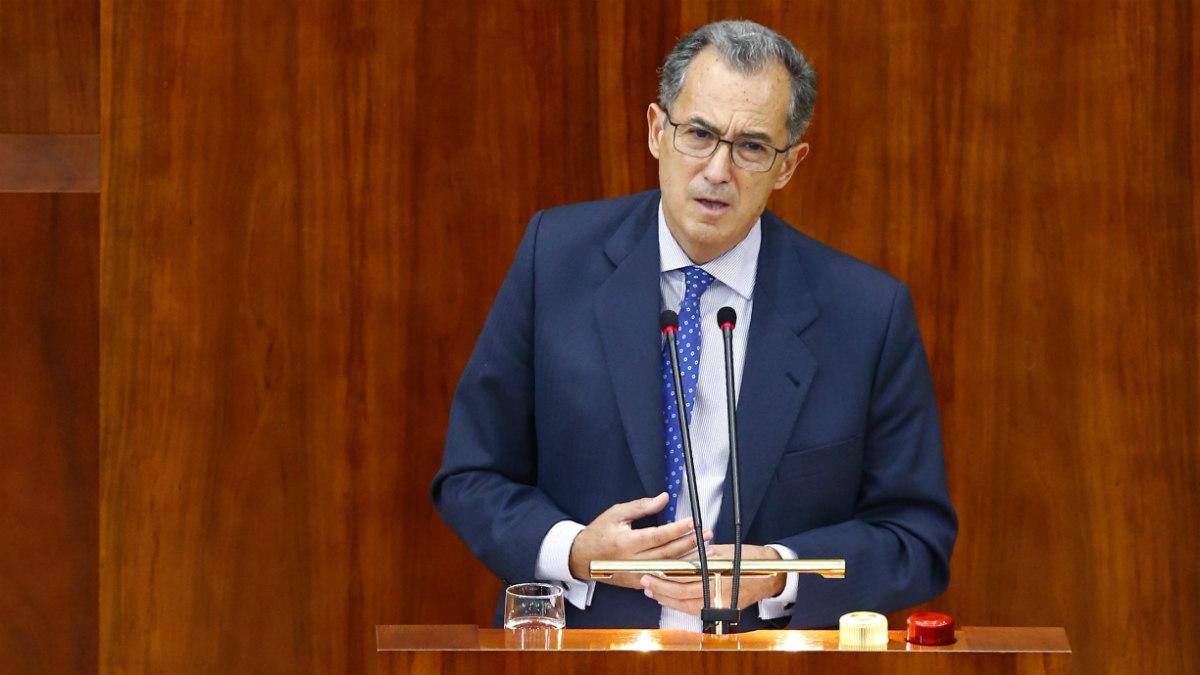 El portavoz del PP en la Asamblea de Madrid, Enrique Ossorio. (EFE)
