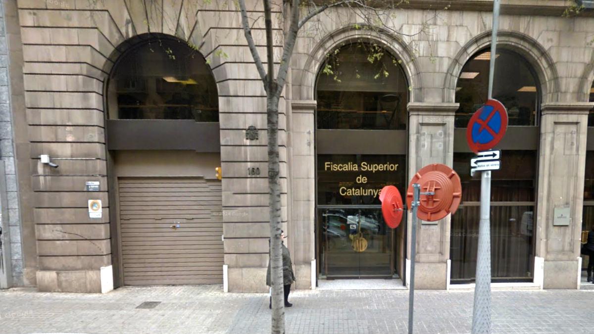 Sede de la Fiscalía Superior de Cataluña, en la calle Pau Claris de Barcelona.