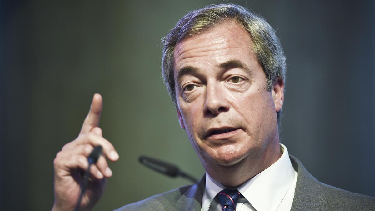 Nigel Farage. (Foto: AFP)