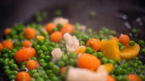 Recetas para cocer guisantes_ tiempos recomendados para frescos y congelados
