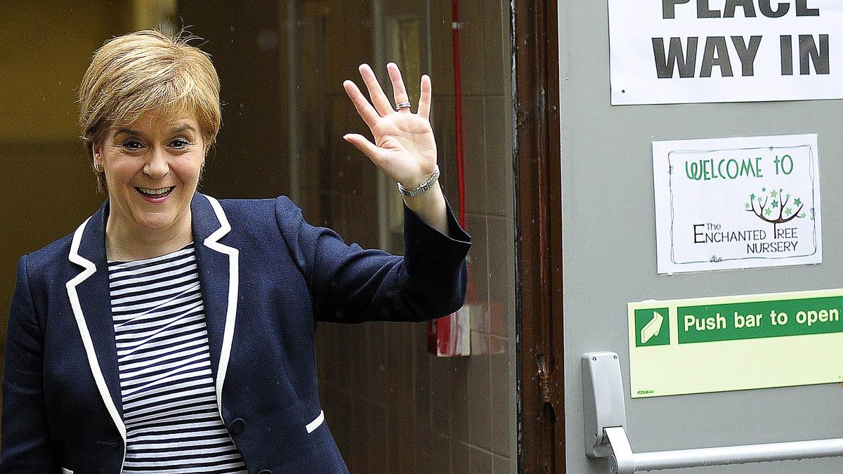 Nicola Sturgeon. (Foto: AFP)