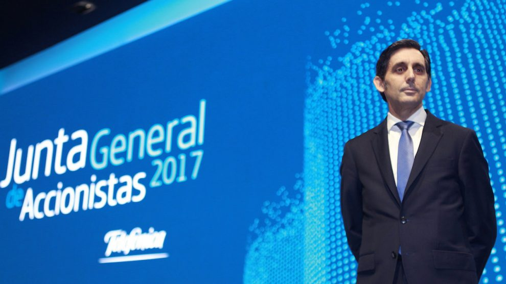 El presidente de Telefónica, José María Álvarez-Pallete. (Foto: EFE)
