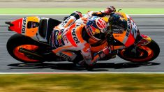 Pedrosa, pole en Montmeló. (Getty)