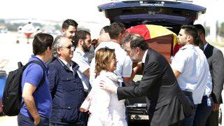 Rajoy da el pésame a la familia de Ignacio Echeverría (Foto: Efe).