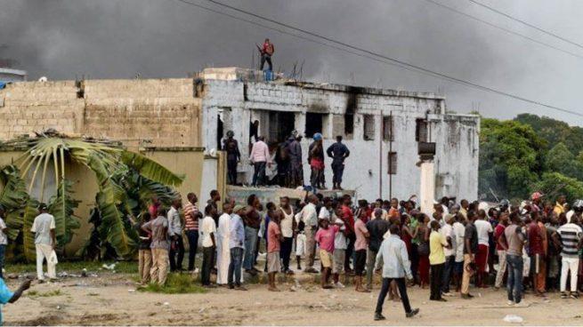 Al menos 11 muertos en una fuga masiva tras un ataque a una cárcel en Congo