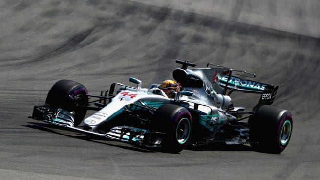 Lewis Hamilton en Canadá (Getty)