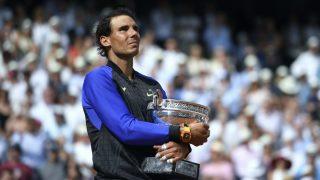 Nadal, con su décimo título en Roland Garros. (AFP)