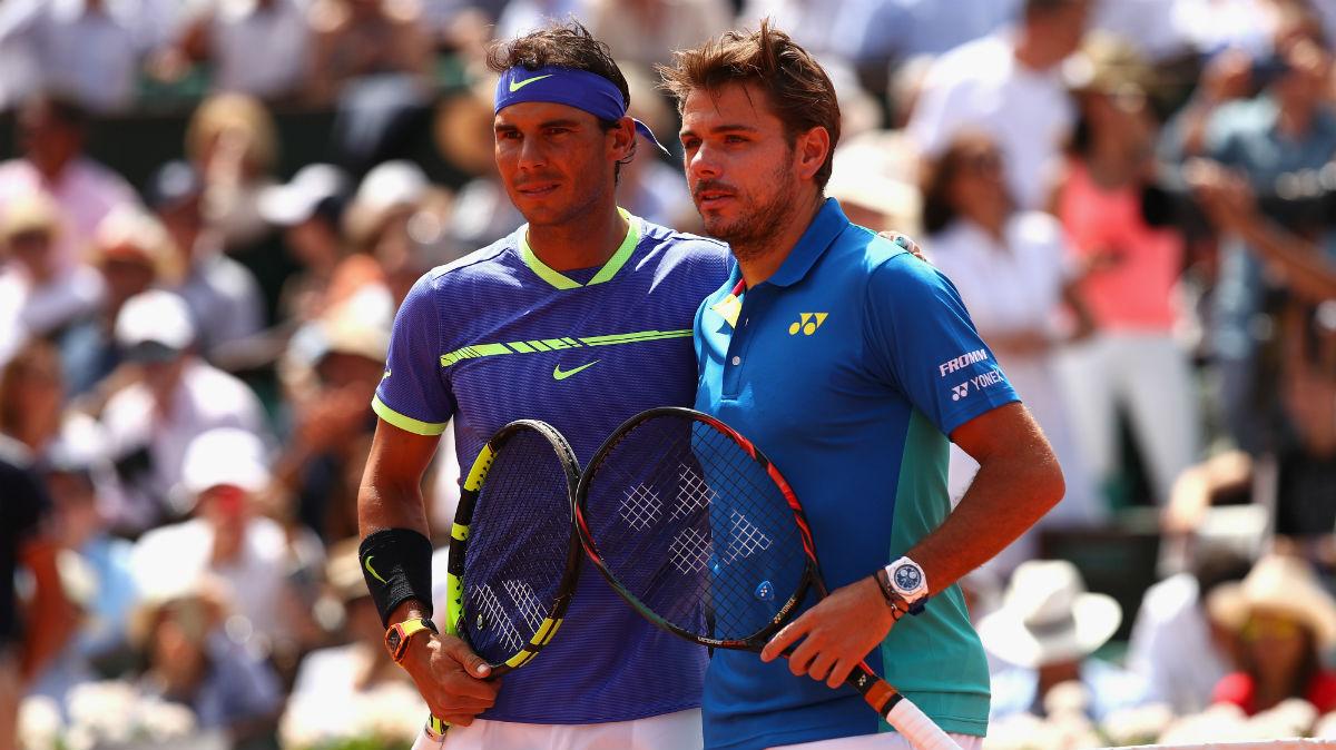 Rafa Nadal vs Stanislas Wawrinka en la final de Roland Garros. (Getty)