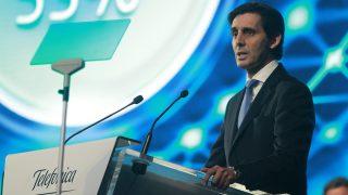 El presidente de Telefónica, José María Álvarez-Pallete (Foto: EFE)