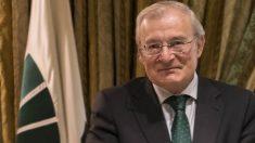 El presidente de Unicaja, Manuel Azuaga.