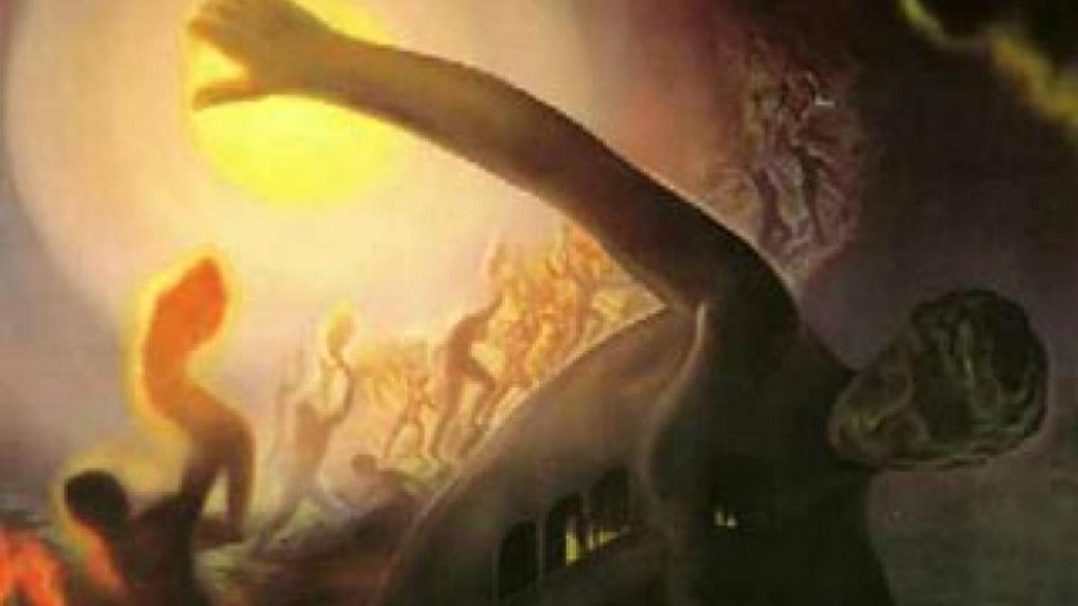 'El atleta cósmico', de Salvador Dalí.
