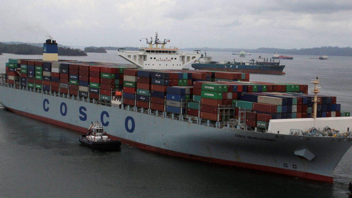 Compañía china Cosco (Foto. Cosco)
