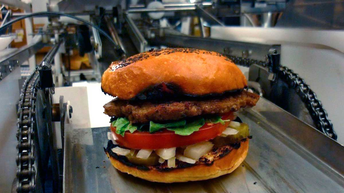 ¿Cuántas hamburguesas eres capaz de tomar por hora?