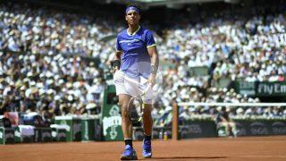 Rafa Nadal, en la final de Roland Garros. (AFP)