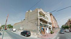 Calles de Beniaján, pedanía de Murcia, donde se produjo el suceso.