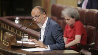 El diputado del PDeCAT Carles Campuzano. (Foto: EFE)
