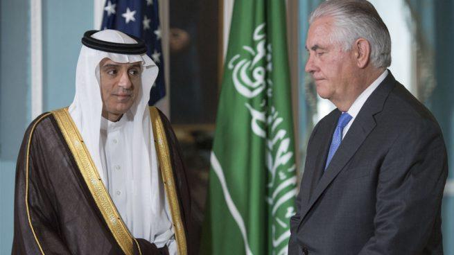 El jefe de Exteriores saudí dice en Washington que no hay un «bloqueo» sobre Qatar