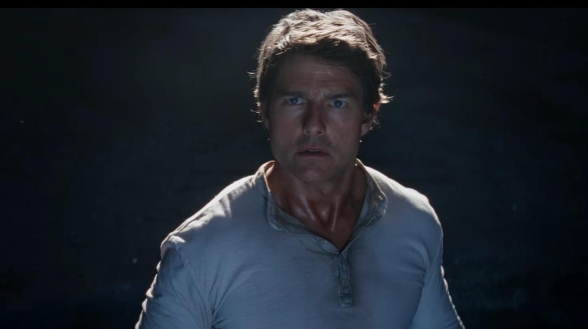 Tom Cruise, protagonista de la película 'La Momia' (Foto: Tráiler Universal)
