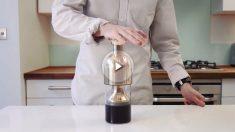Con este decantador el vino aguantará 12 días (Foto: Kickstarters)
