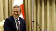 Anders Samuelsen, ministro de Exteriores de Dinamarca. (AFP)