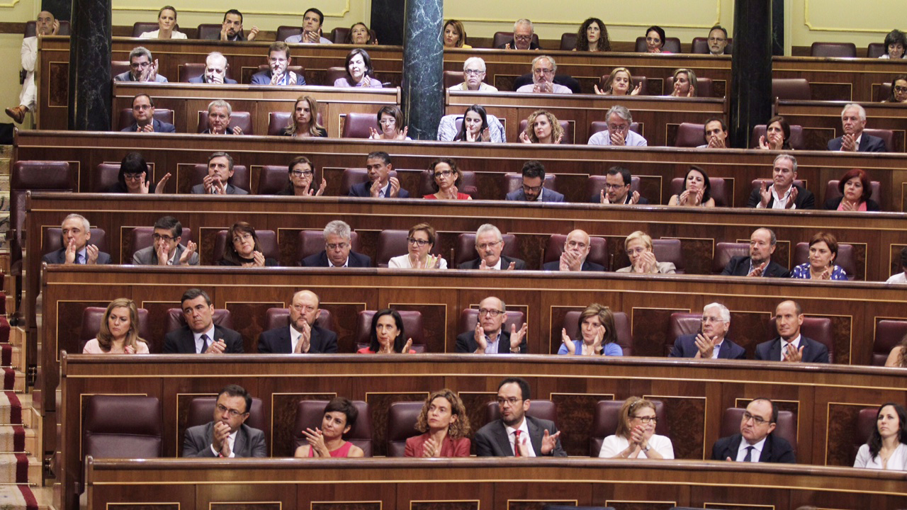 Bancada PSOE. (Foto: Francisco Toledo)