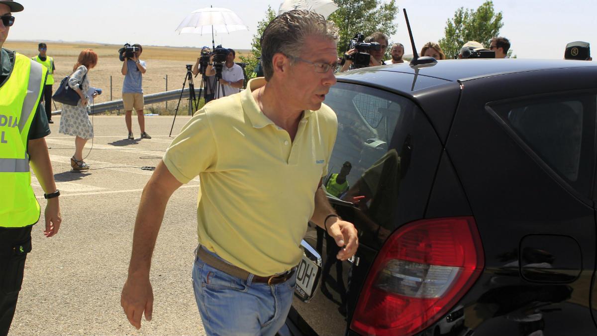 Francisco Granados a su salida de la cárcel de Estremera. (Foto: EFE)