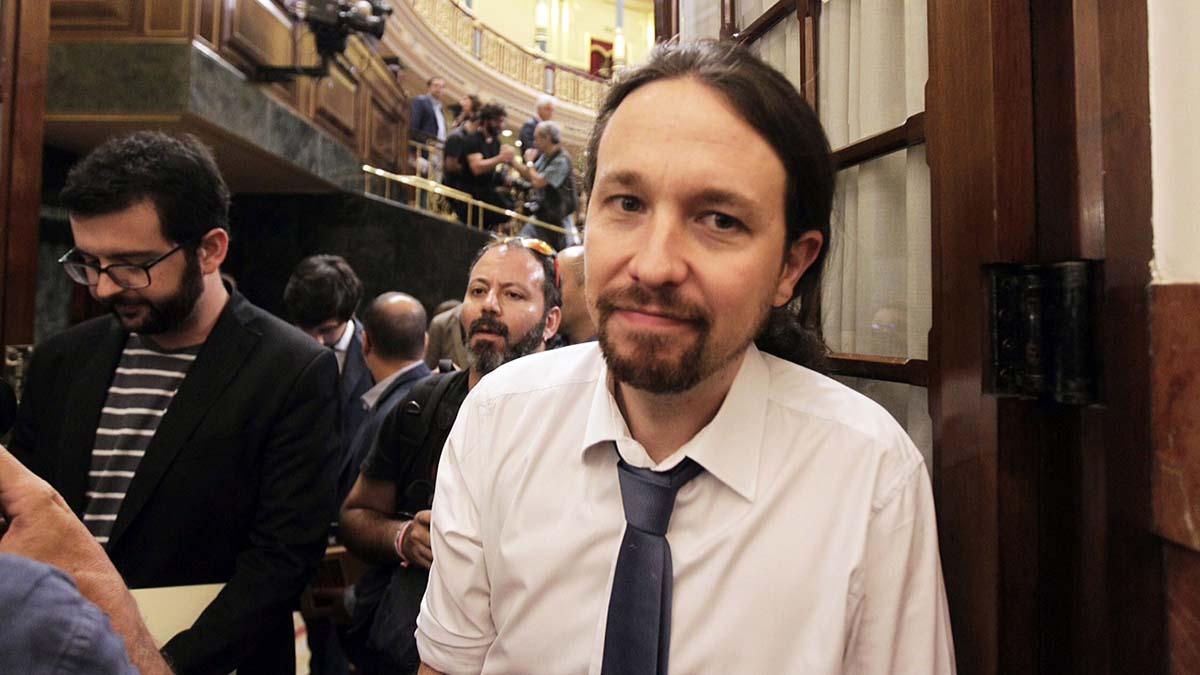 El secretario general de Podemos, Pablo Iglesias (Foto: Francisco Toledo)