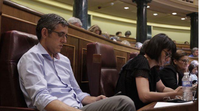 Madina evidencia su rechazo a Sánchez y no aplaude a Ábalos