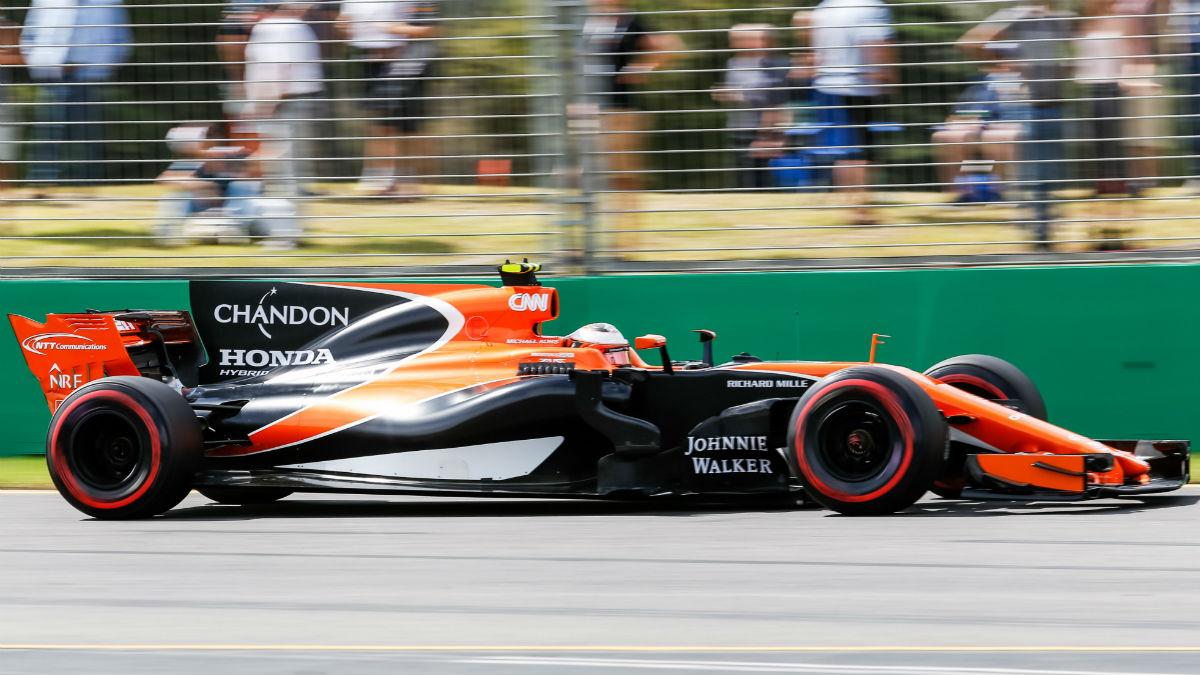 La falta de relación entre los datos del banco de pruebas de Honda con lo que luego se ve en la pista es la verdadera causa del retraso del motorista japonés. (Getty)