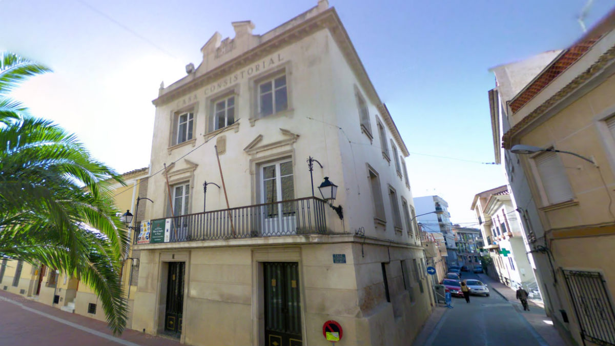 Ayuntamiento de Pliego (Murcia).