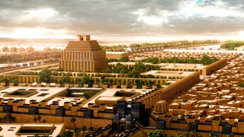 La ciudad de Babilonia fue una de las más imponentes de la antigüedad