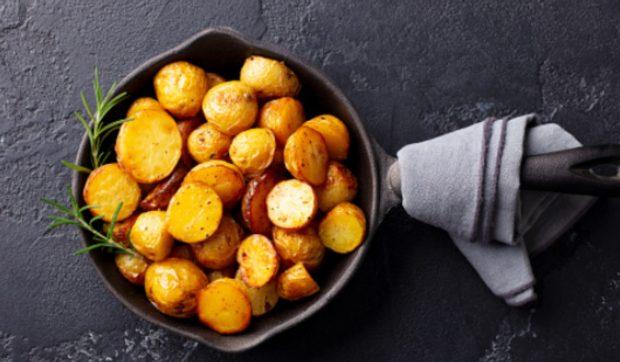 Patatas salteadas con bacon al estilo alemán