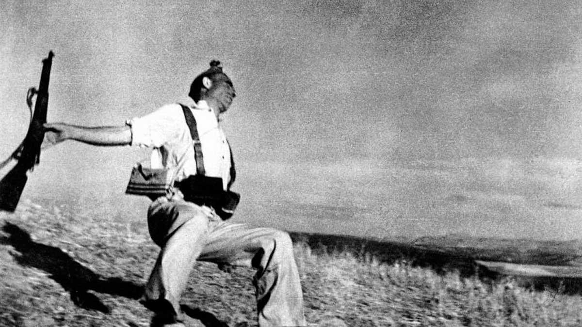 La fotografía del soldado herido es una de las más famosas de la Guerra Civil