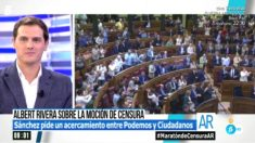El presidente de Ciudadanos, Albert Rivera, en 'El Programa de Ana Rosa' (Foto: Telecinco)