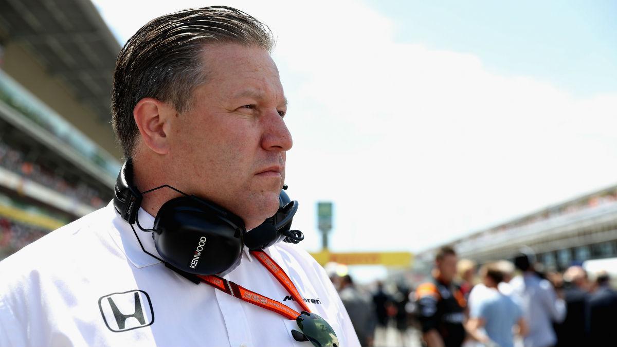 Zak Brown asegura que las razones de la más que posible ruptura entre McLaren y Honda van más allá de lo estrictamente deportivo. (Getty)