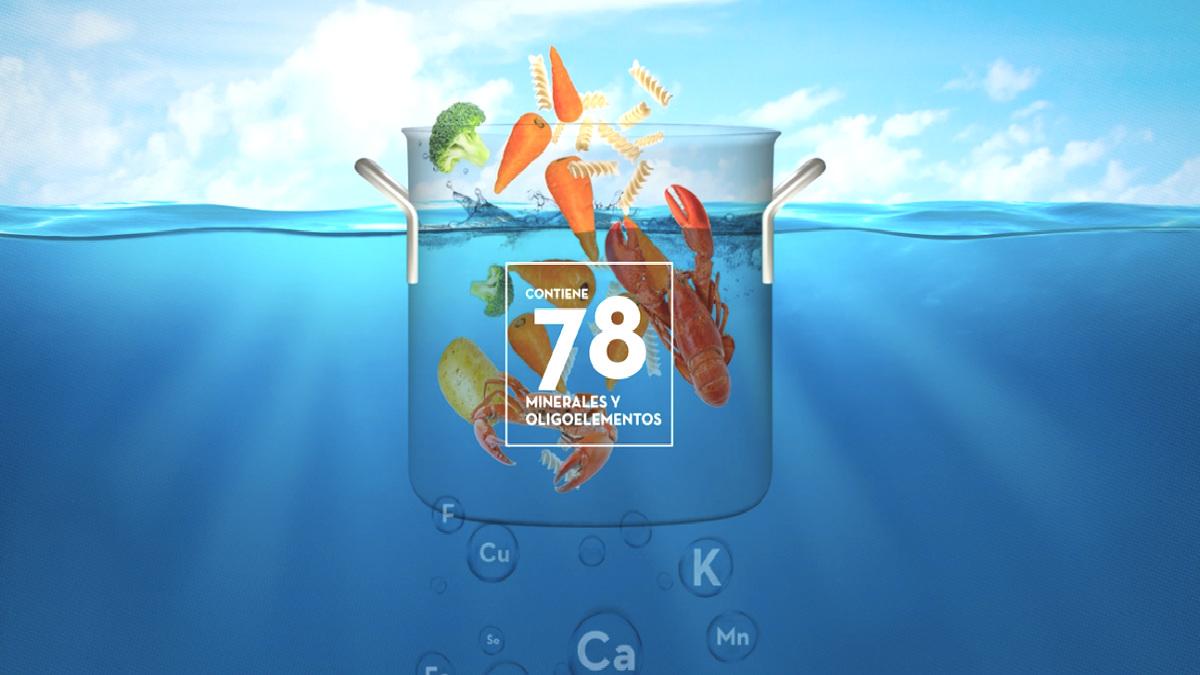 Cocina con agua de mar (Foto: Mediterránea)