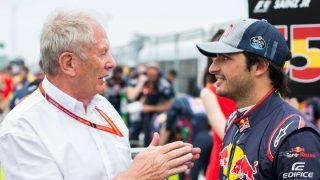 Helmut Marko ha cerrado la puerta a una hipotética salida de Carlos Sainz asegurando que es Red Bull el que decide cuándo finalizan los contratos. (Getty)