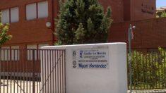 Instituto Miguel Hernández de Ocaña, donde han atendido a menores por calor.