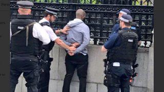 El sospechoso detenido en Londres.