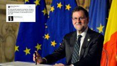 El presidente del Gobierno, Mariano Rajoy, se ha despedido del ex canciller alemán Helmut Kohl.