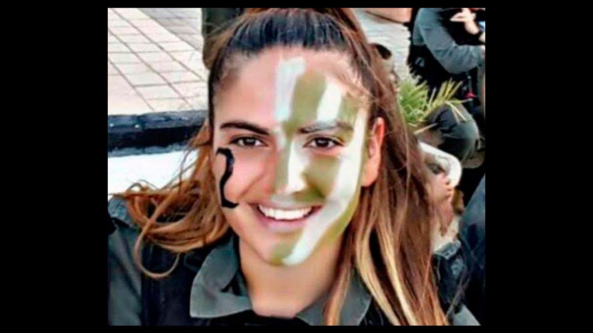 Hadas Malka, la policía israelí de 23 años asesinada por tres terroristas palestinos a cuchilladas en Jerusalén.