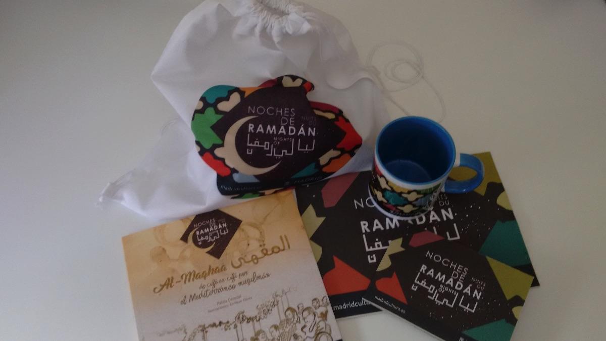 Pack de productos del Ramadán que regala el Ayuntamiento. (Foto: OKDIARIO)