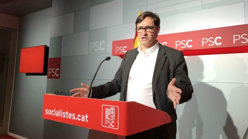 Salvador Illa, secretario de Organización del PSC.   Última hora Cataluña