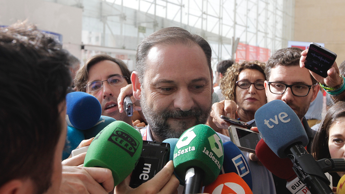 José Luis Ábalos. (Foto: Francisco Toledo)