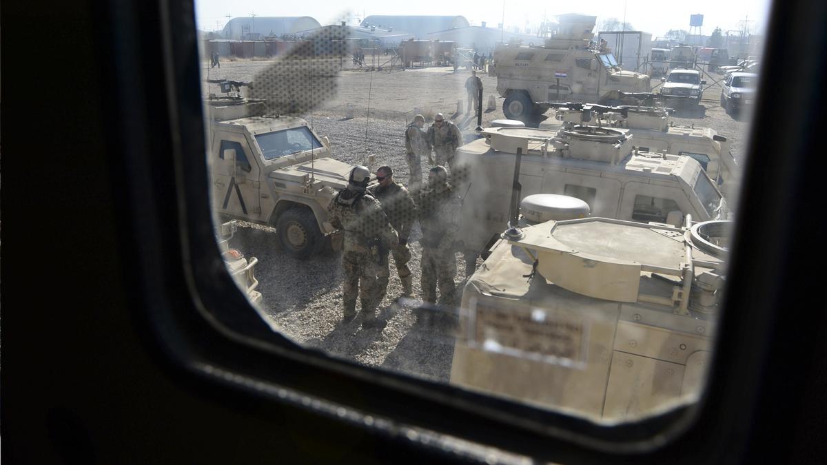 Base militar Camp Shaheen. (Foto: AFP)