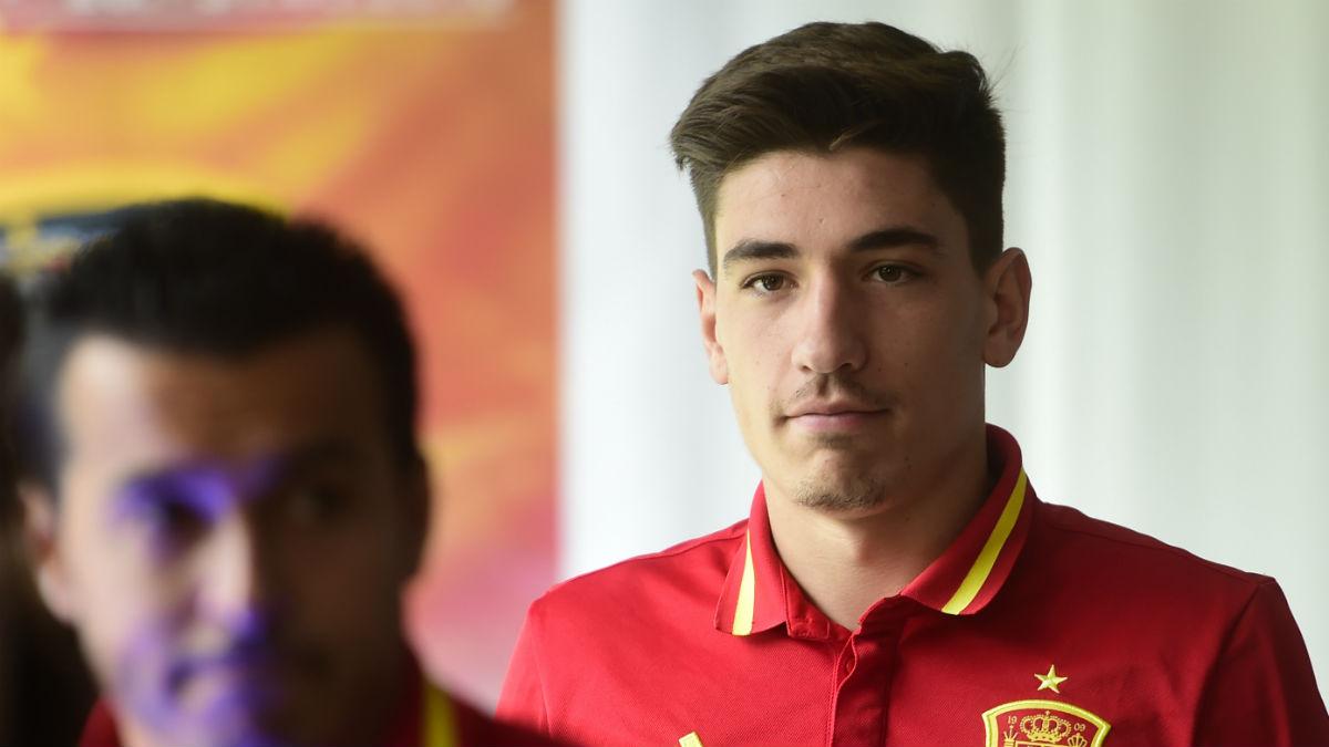 Héctor Bellerín. (AFP)