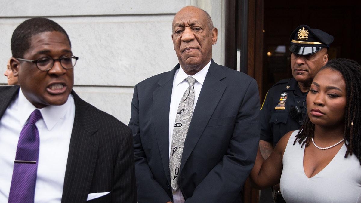 Bill Cosby durante su juicio (Foto: AFP)