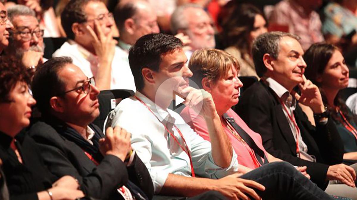 Pedro Sánchez, en el 39 Congreso del PSOE. (Foto: Francisco Toledo)